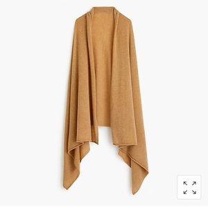 JCrew oversized cashmere wrap